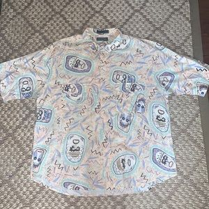 Vintage Genera Collection Button Up
